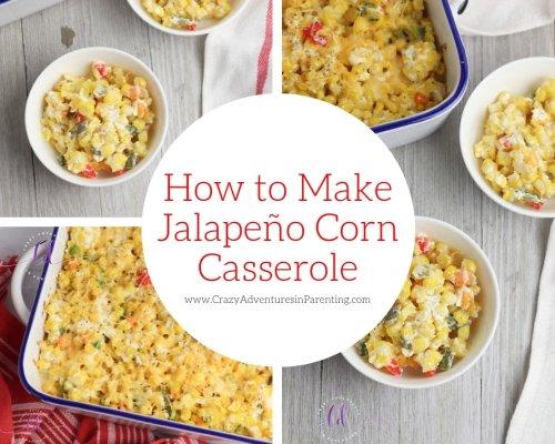Jalapeño Corn Casserole