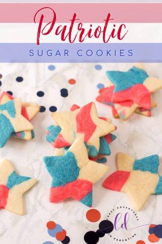 Patriotic Sugar Cookies Recipe