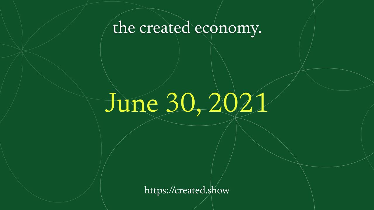 Episode 6: June 30, 2021