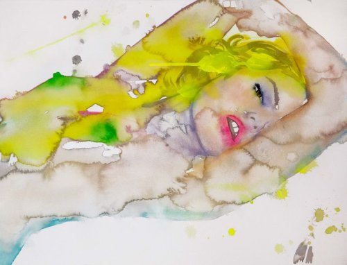 Fahren Feingold's watercolour, ethereal nudes are 'wet dreams' for women everywhere