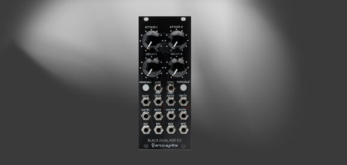 Erica Synths Introduces Black Dual ASR EG Eurorack Module - Creative Planet Network