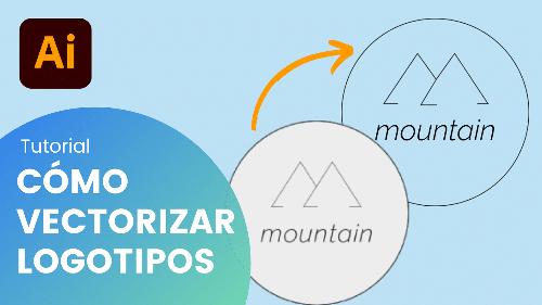 Cómo vectorizar un logotipo en Adobe Illustrator paso a paso