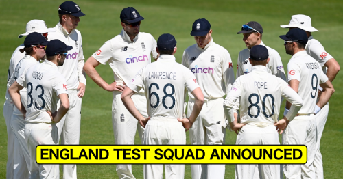 Just IN: England Announce 17-Member Squad For First Two Tests Against India