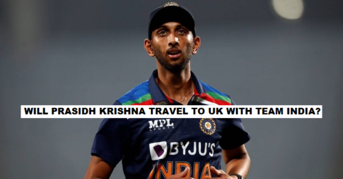 ICC WTC Final 2021: Chances Of Prasidh Krishna Travelling To UK Along With Team India