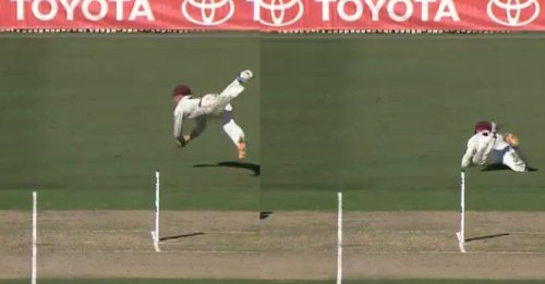 Watch: Marnus Labuschagne Takes A One-Handed Stunner To Dismiss Josh Hazlewood In The Shield Final