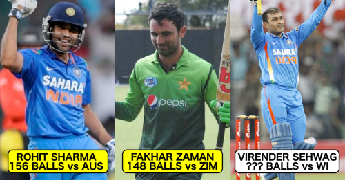 Top 8 Fastest Double Centuries In ODI Cricket