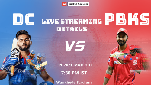 IPL 2021, Match 11: Delhi Capitals vs Punjab Kings (DC vs PBKS) – When And Where To Watch, Live Streaming Details