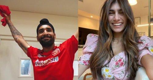 Punjab Kings' spinner Harpreet Brar's old tweet for Mia Khalifa goes viral