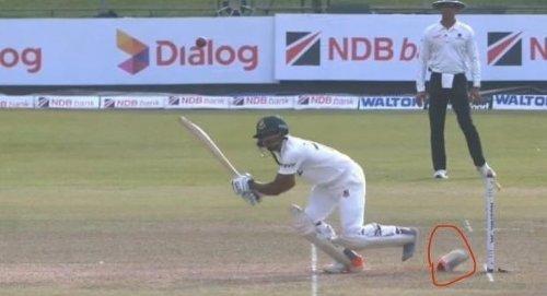 Bangladesh batsman loses his shoe in one of Test cricket's strangest ever dismissals