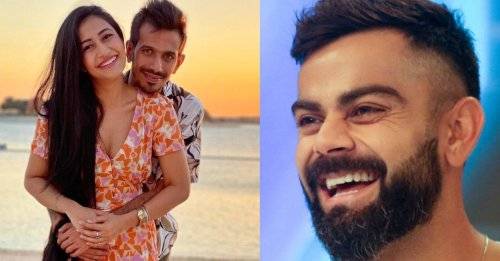 Dhanashree Verma comes up with a three word complement for Virat Kohli