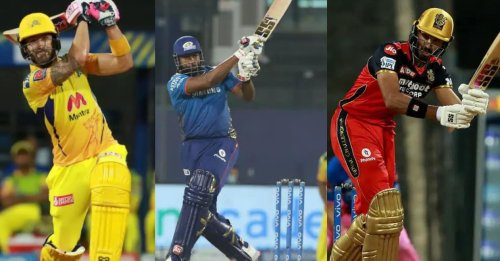 Top 5 batting performances in IPL 2021