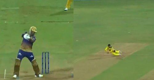 IPL 2021: WATCH – Ravindra Jadeja takes a sharp catch to remove Sunil Narine during CSK's win over KKR
