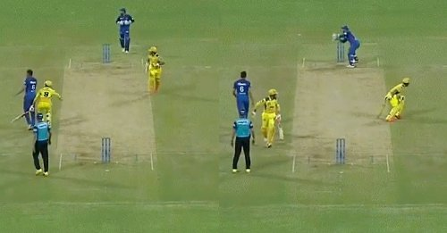 IPL 2021: Suresh Raina's stunning knock cut short by run-out after a terrible mix-up with Ravindra Jadeja