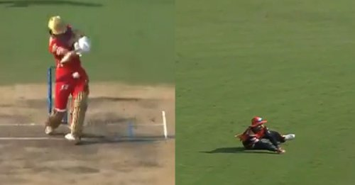 IPL 2021: WATCH – Rashid Khan takes a good low catch to dismiss Mayank Agarwal