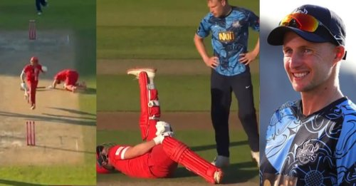 WATCH: Joe Root's Yorkshire display top sportsman spirit by refusing to run out a batsman after he collapses