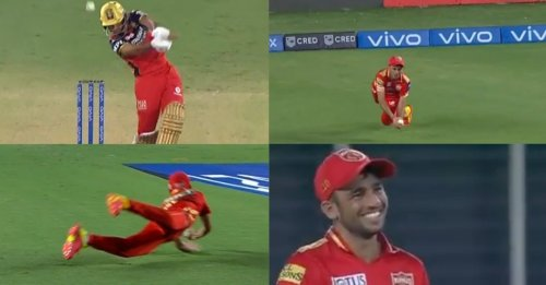 IPL 2021, PBKS vs RCB: WATCH – Ravi Bishnoi takes a blinder to end Harshal Patel's explosive cameo