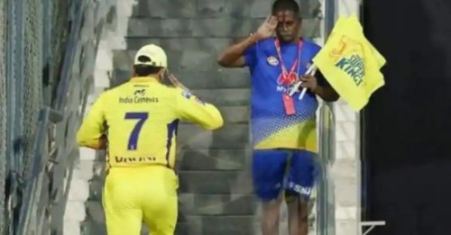 IPL 2021: MS Dhoni's heartwarming gesture to CSK Staff wins the internet