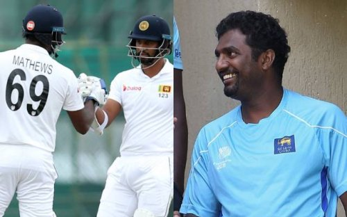 Angelo Mathews, Dimuth Karunaratne refer Muttiah Muralitharan 'unprofessional' for comments on contract issue