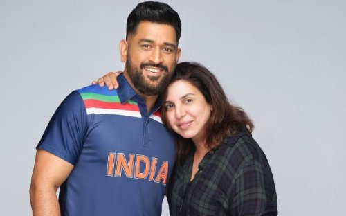 'What a lovely human being he is' - Farah Khan opens up on shooting with MS Dhoni recently