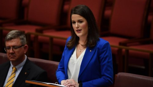The Liberal Party's rising star and her newfound fixation on trans women in sport