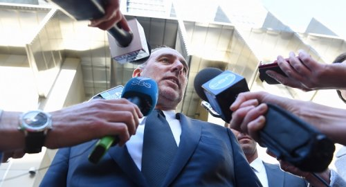 Brian Houston steps aside from Hillsong's boards as his day in court looms
