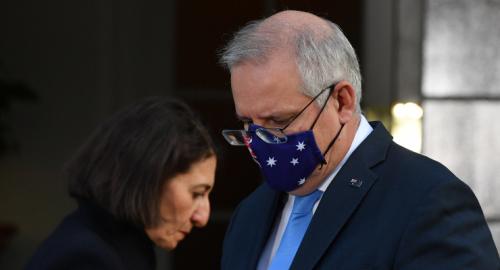Scott Morrison steps down as 'prime minister for NSW'