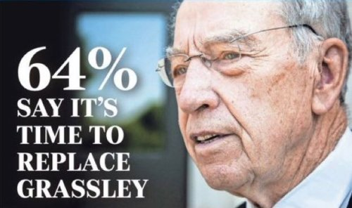 Iowa Poll: 64% Say It's Time To Replace Chuck Grassley