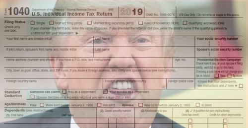 DOJ Rules Treasury Must Release Trump's Taxes To Congress