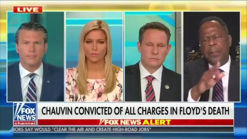 Pete Hegseth Whines About Chauvin Verdict