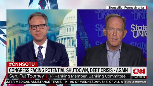 Pat Toomey Lies About Trump's Tax Cuts Paying For Themselves