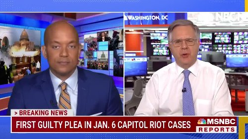 Prosecutors Secure First Guilty Plea In Capitol Riot Cases