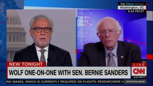 Bernie Sanders Calls For Major Police Reforms