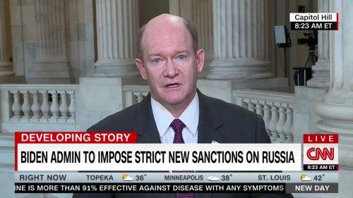 Biden Announces Russia Sanctions In Retaliation For Cyber Attacks