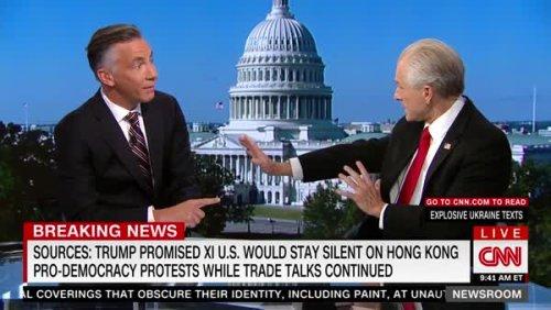 CNN Anchor Cuts Peter Navarro's Disastrous Interview Short