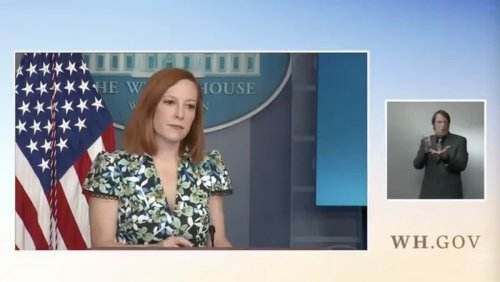 Psaki Shuts Down Newsmax Reporter On Founders' Racism