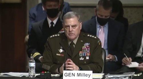 General Milley Knocks Down Tehran Tom Cotton In Hearing
