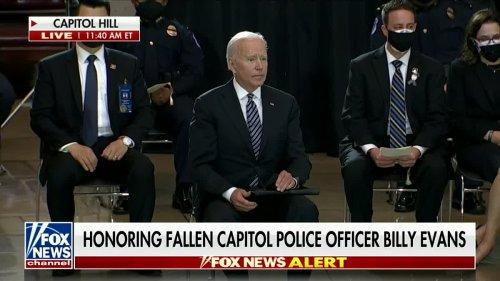 Harris Faulkner Praises Pres. Biden's Speech Honoring Officer Billy Evans