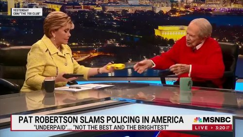 Even Pat Robertson Is Criticizing Police Shootings
