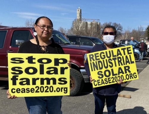 Solar power becomes 'nightmare' for some Klickitat County residents