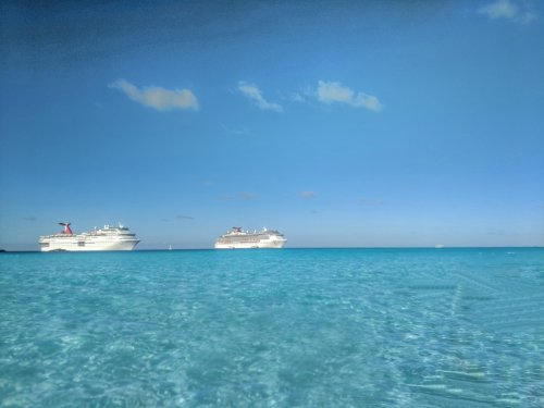 Carnival Pride 7-Day Winter Cruise: Day 4 (Half Moon Cay)