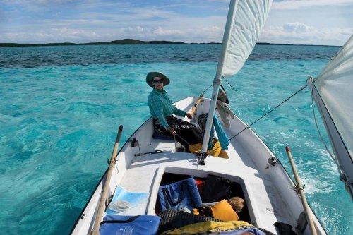 Sailing a Sea Pearl in the Exumas