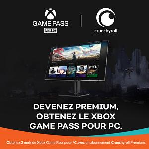 Crunchyroll Premium passe au niveau supérieur avec Xbox Game Pass pour PC