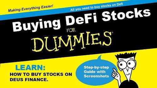Buying DeFi stocks for Dummies | Cryptopolitan