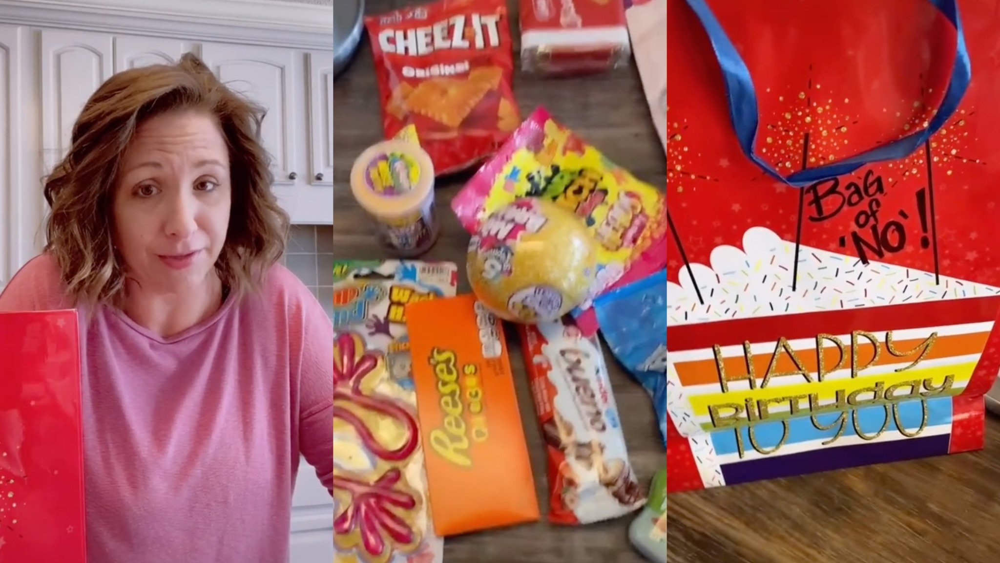 Mom Shares Bag of 'No' Birthday Tradition on TikTok & It's Pretty Genius
