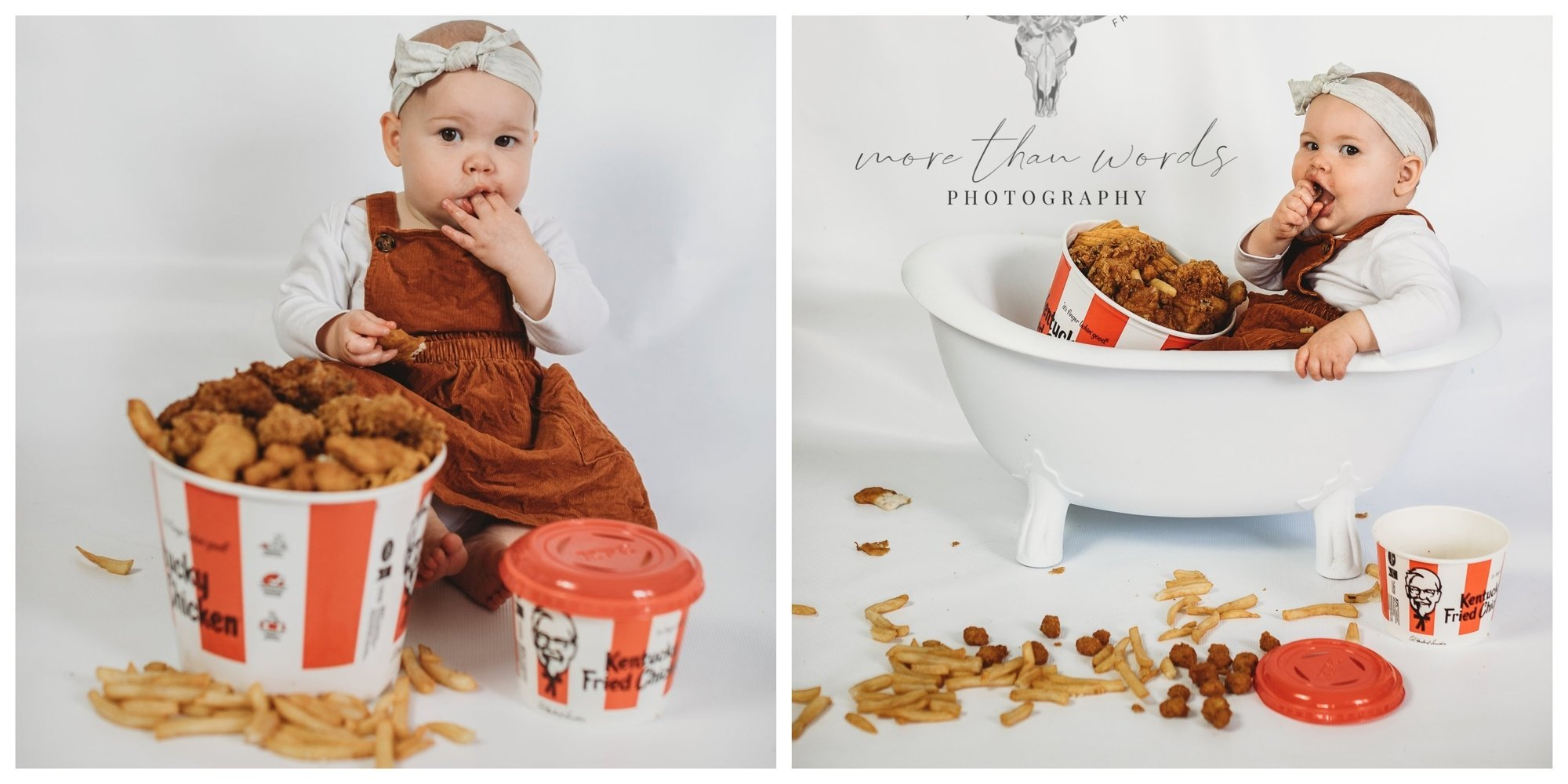 Mom Claps Back After Trolls Slam Her 'Fat' Baby's KFC-Themed Cake Smash