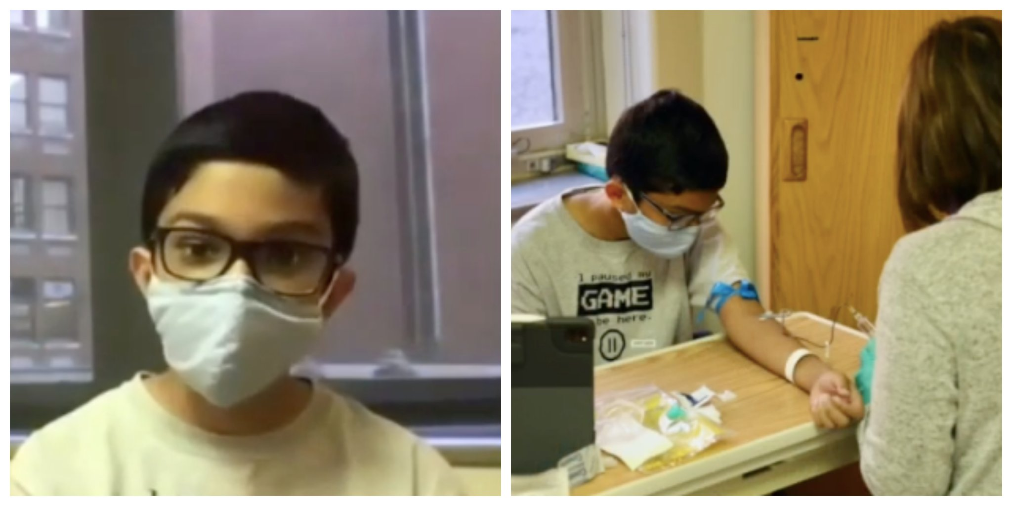 Twelve-Year-Old Boy Is One of the Youngest Volunteers To Enroll in COVID Vaccine Trials
