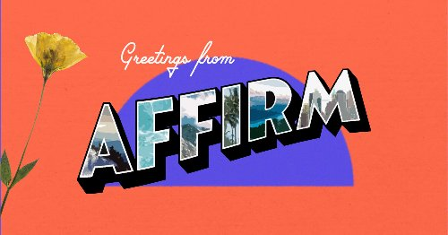 Flights, Travel and Vacation Payment Plans with Affirm