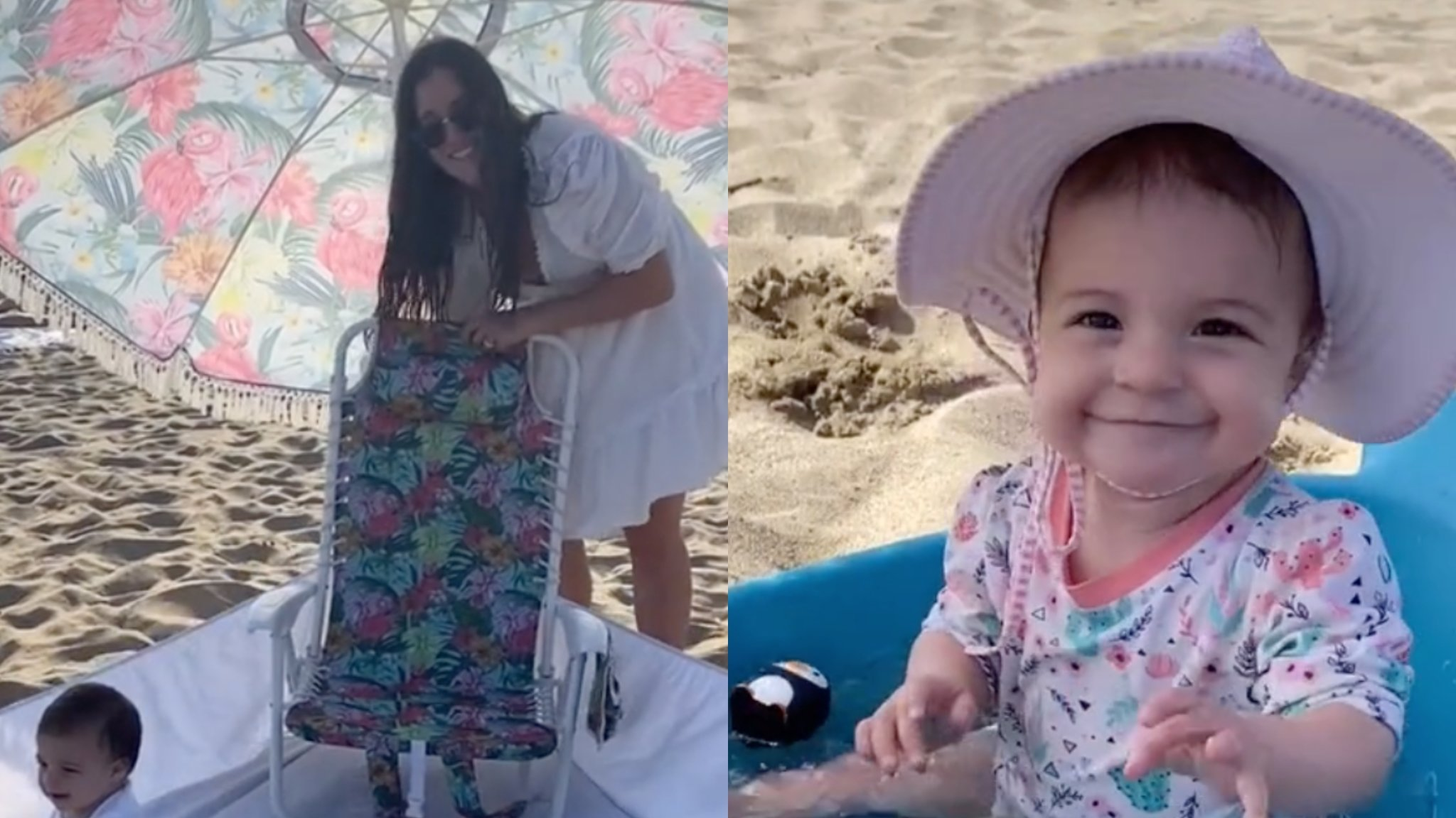 Mom's Clever Beach Day With Baby Hacks Are Taking TikTok By Storm