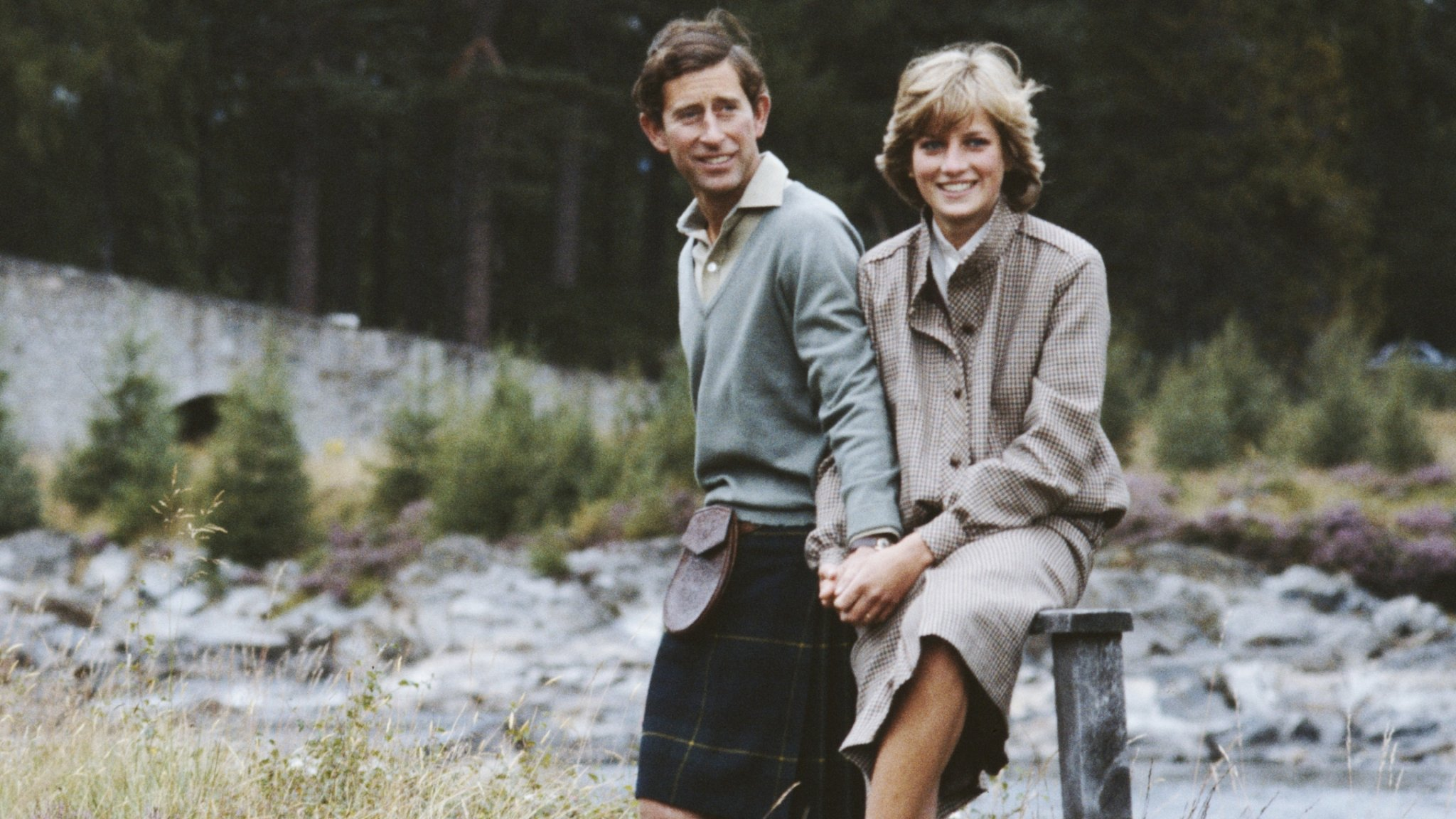 Old Footage Shows Princess Diana Cracking Up While Prince Charles Wears A Hard Hat
