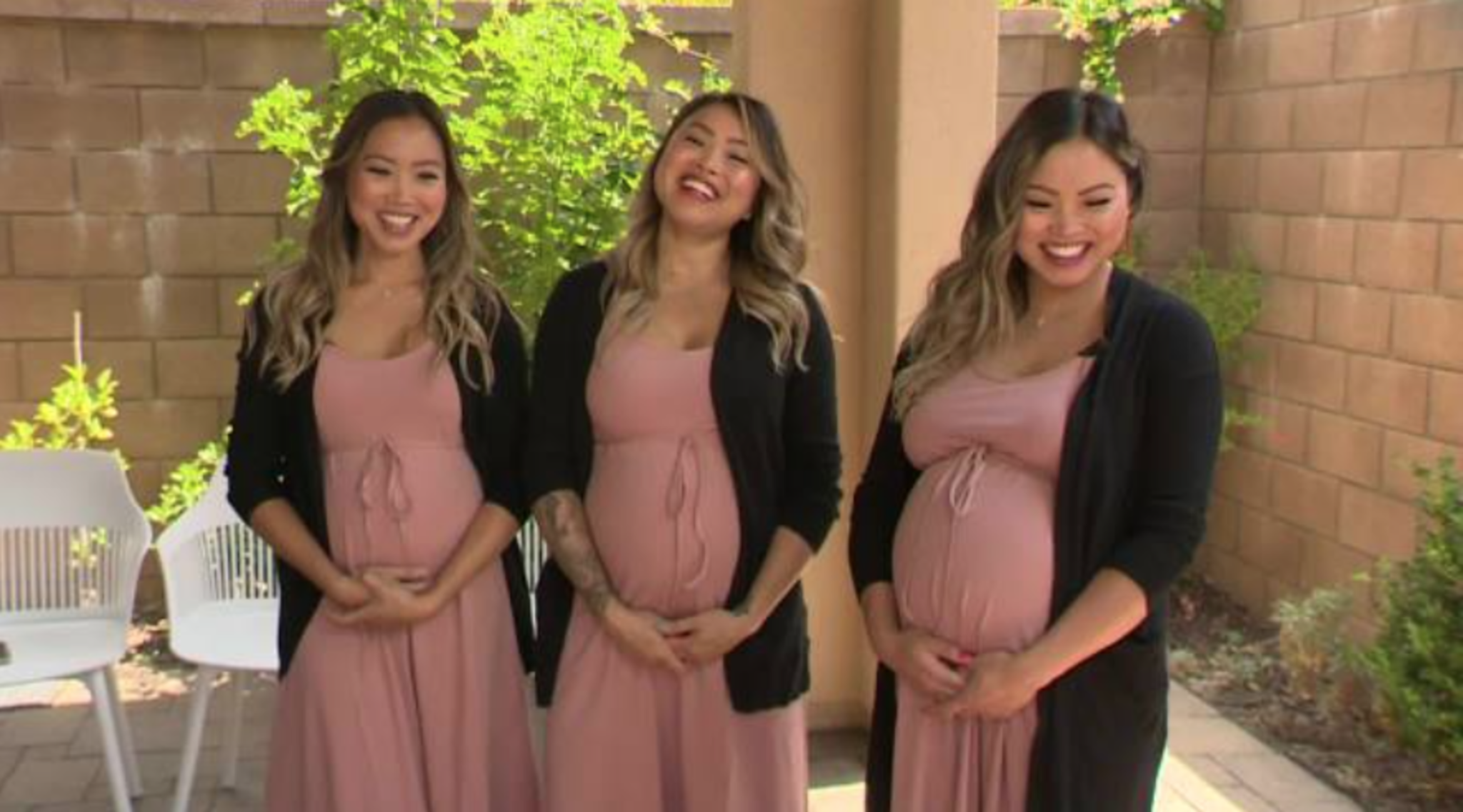 Triplet Sisters Simultaneously Get Pregnant
